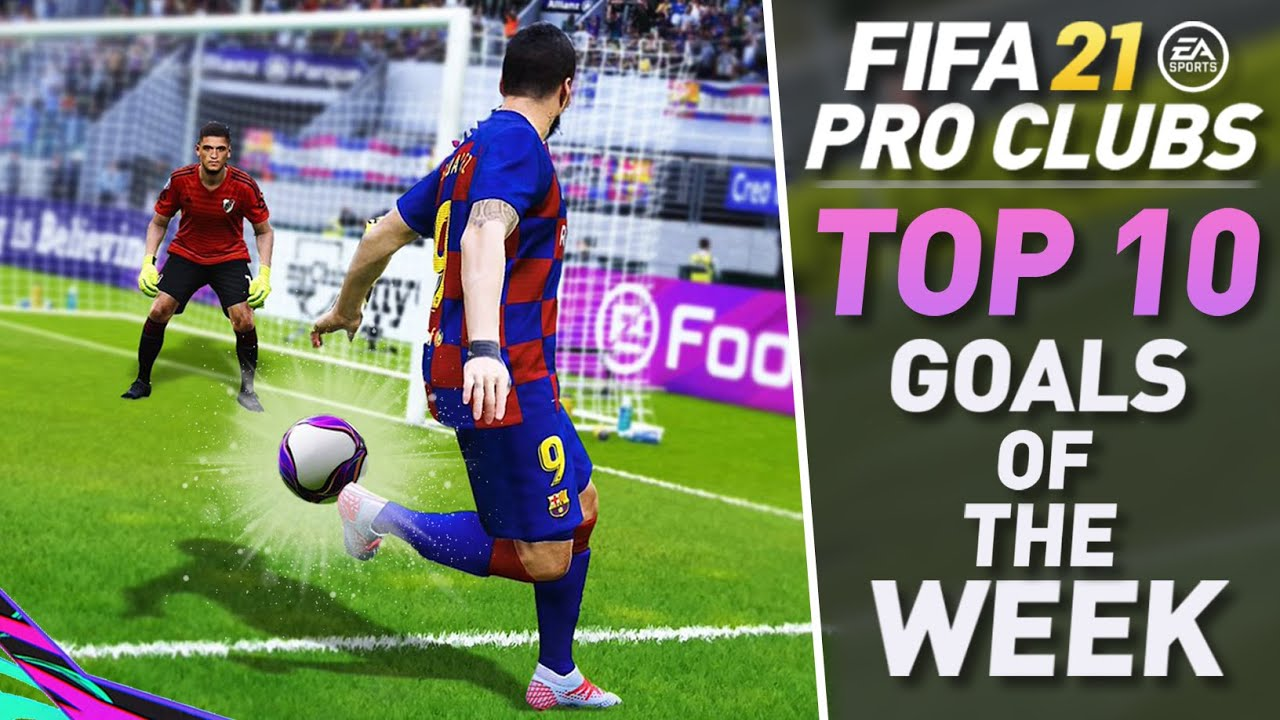 TOP 10 BEST GOALS OF THE WEEK IN FIFA 21 PRO CLUBS #4