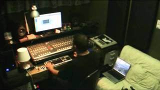 KURK KOKANE 3030 EP MIXING WITH HOOVES @ TETRIS STUDIOS - HEADRUSH-DATURA-MESSINIAN