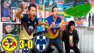 Reaccion al America vs Monterrey (3-0) | Jornada 4 | Liga Mx
