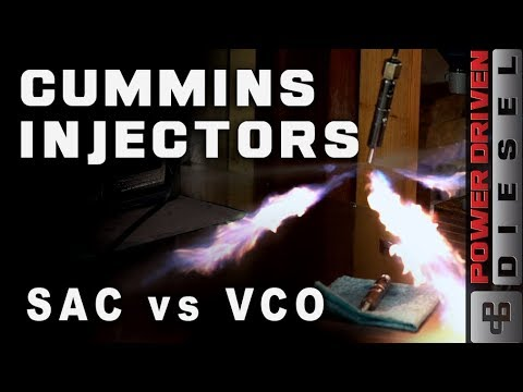 Cummins Injectors, SAC vs VCO Nozzles | Power Driven Diesel