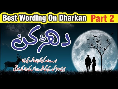 Dhadkan Best poetry and Quotes in Urdu Hindi with voice || Golden words