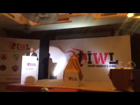 Praful Patel launches the Indian Women's Football League