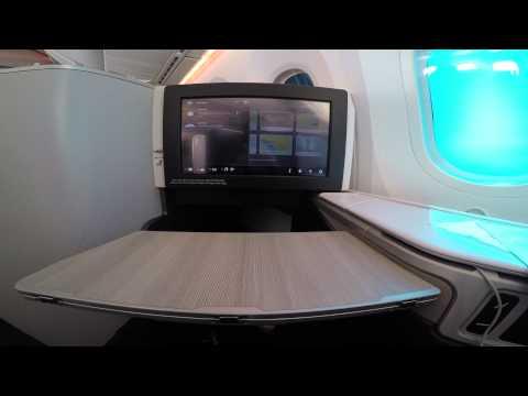 AC1176 YVR-YYZ Air Canada Business Class Boeing 787 4K GoPro