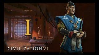 Прохождение Civilization 6 #1 - На заре великой империи! [Япония - Император]
