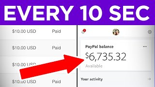 Earn $10 Every 10 Seconds FREE (Make Money Online)