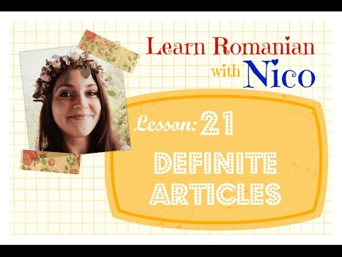 Easy-Peasy Romanian - Lesson 21: THE
