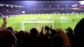 Andy Carroll Penalty: West Ham United vs Tottenham Hotspur