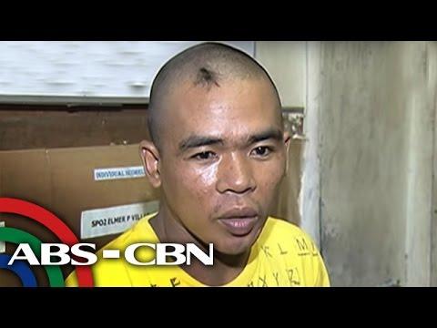 TV Patrol: Dahil naharangan ang gate: Pulis, binugbog ng 2 sekyu