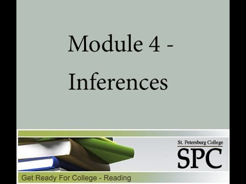 Module 4 - Inferences