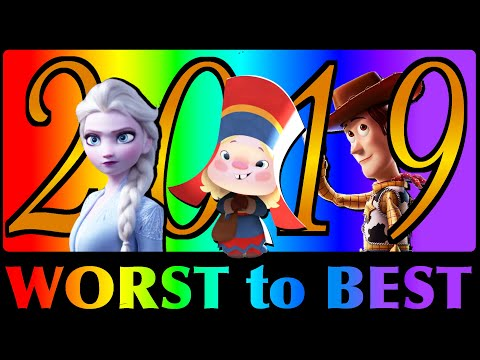 Worst to Best Animated Films of 2019