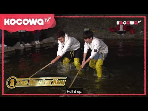 [The Master Key] Ep 11_ Catching trouts with bare hands