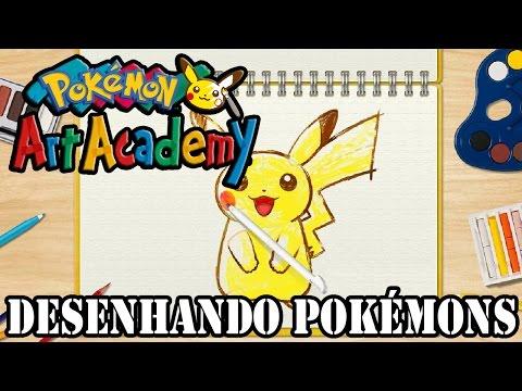 Pokémon Art Academy - Desenhando Pokémons