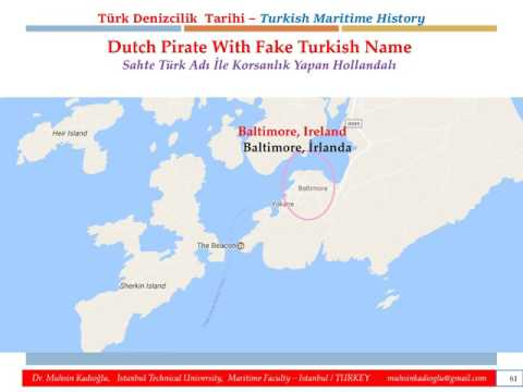 TURKISH MARITIME HISTORY&CULTURE - FAKE TURK PIRATES