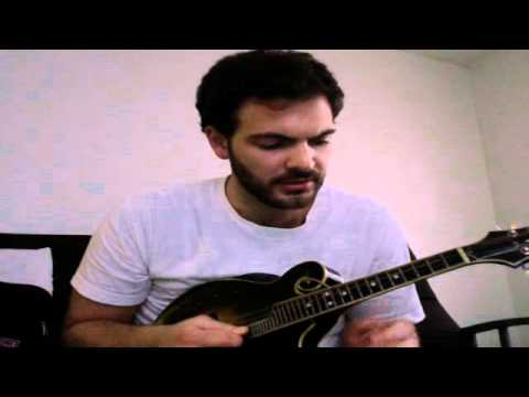 How To Play The Smoothie Song by Nickel Creek- Mandolin