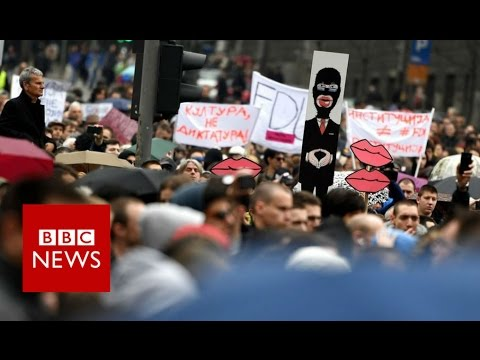 Serbia Protests: Why are thousands of young Serbs so angry? BBC News