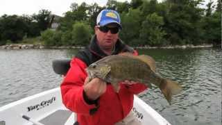 Smallmouth Bass with Tube Jigs