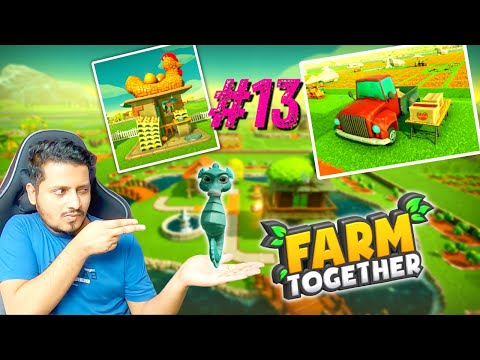 Farm Together | Part 13 | Harvesting My Flower Garden | Earning 2M+ | Hindi Farm Together 13