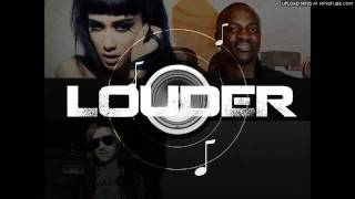 Akon Feat. Natalia Kills - Louder (Prod. By David Guetta) (NEW 2012)