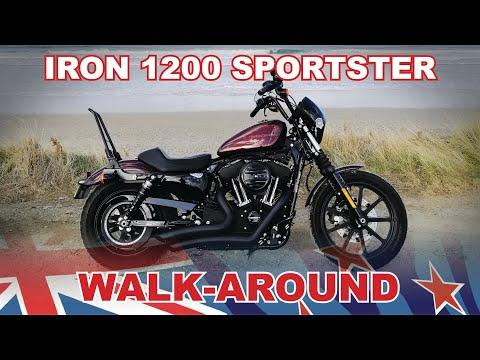 Harley-Davidson Iron1200 Sportster XL1200NS Walk-around
