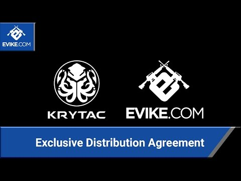 KRYTAC Exclusive Distribution Agreement with Evike.com - Airsoft Evike.com