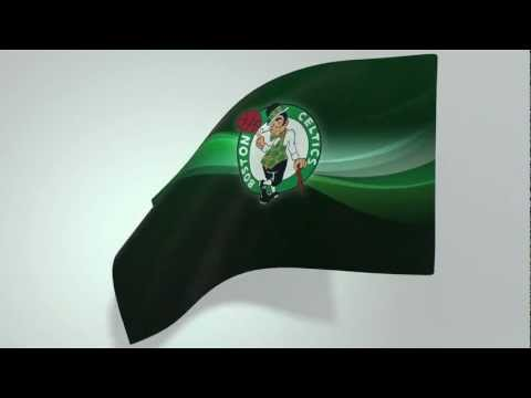 Cloth Simulation - Loopable Flag Boston Celtics