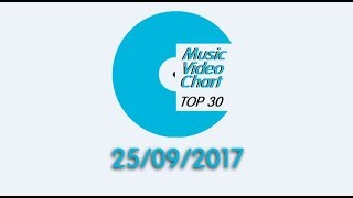 ClipNews Music Video Chart | Top 30 | 25, September, 2017