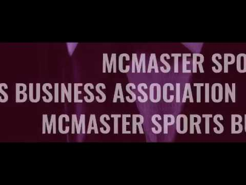 McMaster Sports Industry Conference Promo