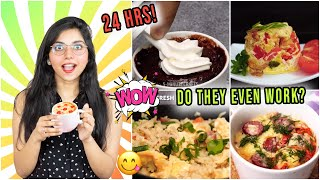 I Only Ate *Viral* MUG RECIPES by 5 Minute Crafts for 24 HOURS | *I DIDN'T EXPECT THIS*