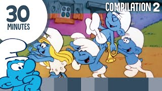 30 Minutes of Smurfs • Compilation 2 • The Smurfs