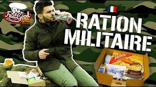 JE TESTE UNE RATION DE COMBAT DE L'ARMÉE FR ! (Unboxing survie)