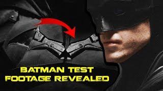 BATMAN Footage Reveals BATSUIT & Amazing Easter Eggs