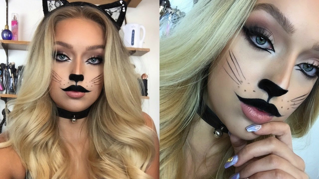 How To Make A Cat Makeup Face