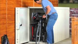 Twin Bike Locker By Asgard