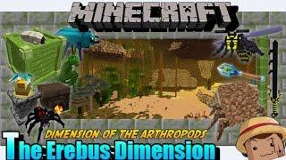 Minecraft Mod [ The Erebus Dimensión ] 1.7.10 Dimensión de Artropodos