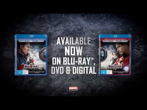 Marvel's Captain America: Civil War- Available on Blu-ray, DVD and Digital NOW!