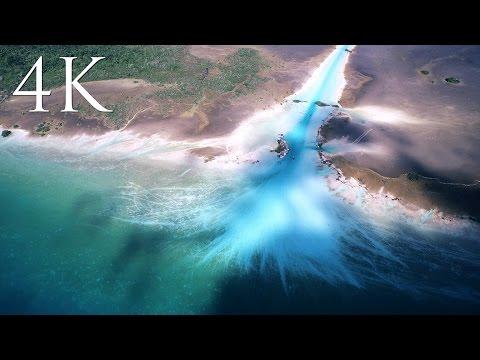 Bacalar desde el aire 4K