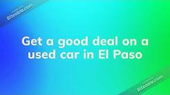 No Money down car lots for bad credit in Elpaso Texas