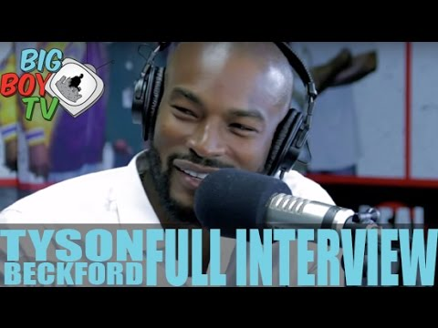 Tyson Beckford on Chippendales, Relationships, Modeling, And More! (Full Interview) | BigBoyTV