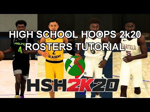 NBA 2k20 HIGH SCHOOL HOOPS DOWNLOAD TUTORIAL (Xbox One)
