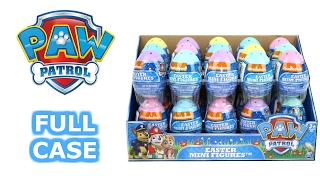 Paw Patrol Easter Mini Figure Surprise Eggs Full Case Unboxing Review Blind Box Opening Entire Case