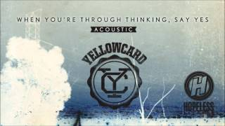 Yellowcard - The Sound of You And Me (Acoustic)