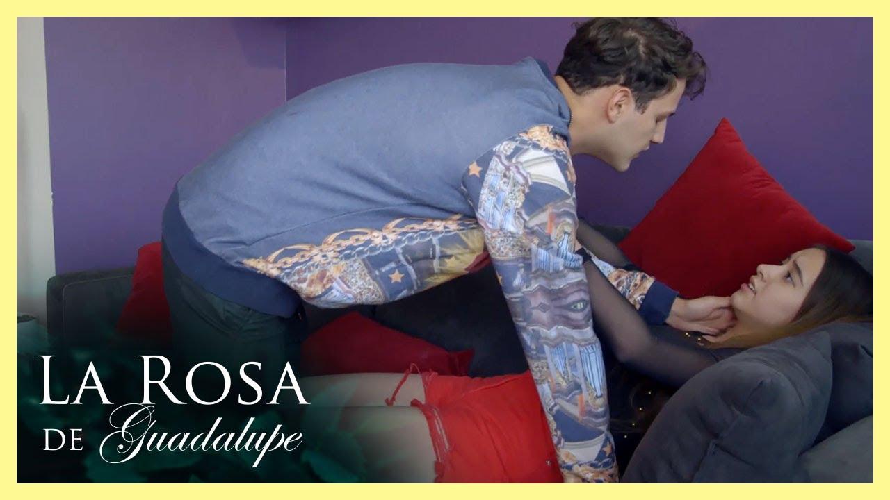 ¡Claudio intenta abusar de Mariana!   Un mundo de fantasía   La Rosa de Guadalupe