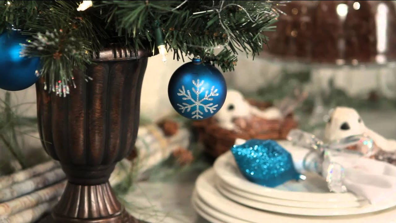 """Kringle Express 24"""" Pre-lit Decorated Christmas Tree In"""