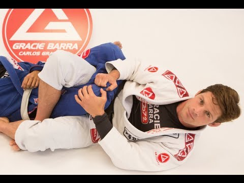 Calf Slicer from the 50/50 Guard at San Clemente Gracie Barra Jiu-Jitsu School