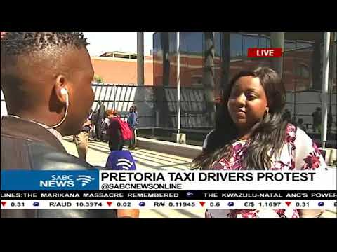 Latest on Pretoria taxi drivers strike: Sipho Stuurman