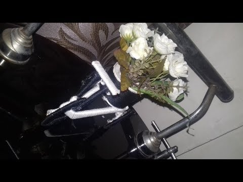 How to make  cycle for home decoration