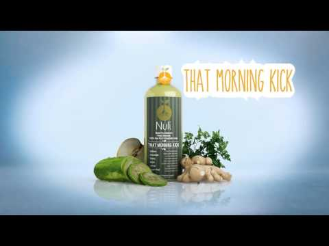Cold-Pressed Fruit & Vegetable Juices from The Nuli Juice Company