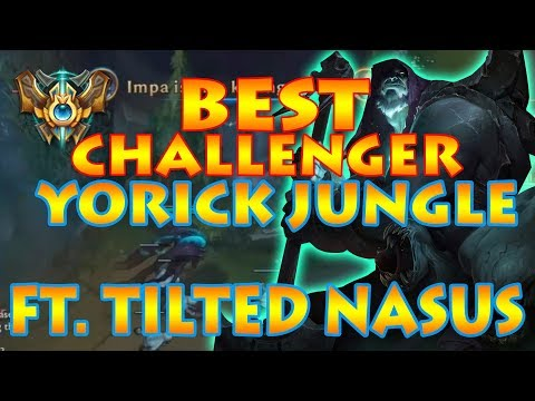 NINETALES CHALLENGER 1-TRICK YORICK JUNGLE: FT SPICY ALLY CHAT [Patch.7.16]