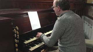 Arietta for Organ - Rónán Murray YouTube Thumbnail