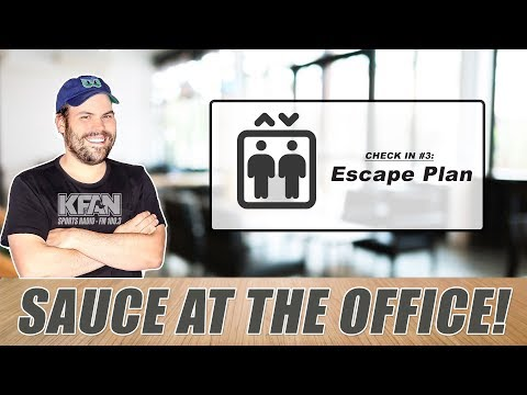 #SauceAtTheOffice: What happens when Chris Hawkey leaves for day?